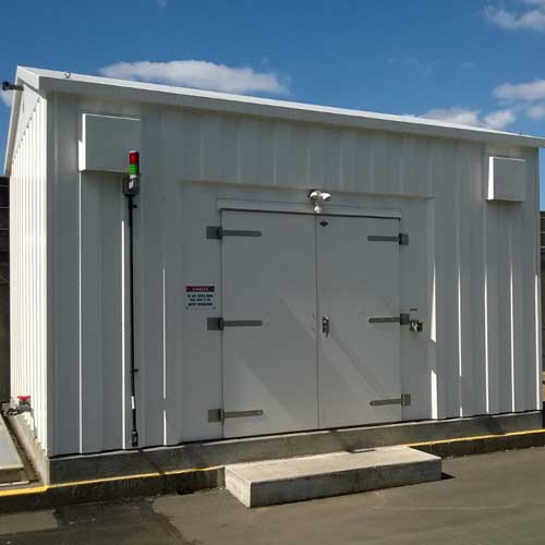 fiberglass Ribbed Shelters
